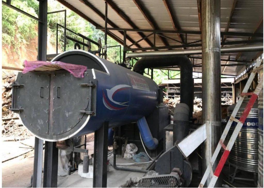 Máy sấy gỗ bằng công nghệ hơi nước tiên tiến của Đức