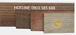 Các màu gỗ của Meranti
