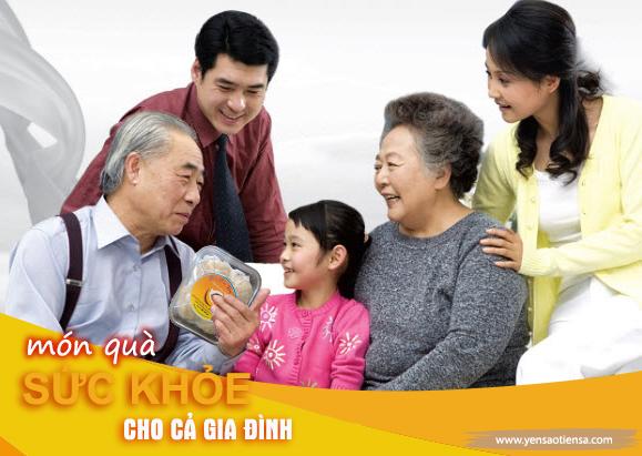 Yến sào Tiên Sa - Món quà sức khỏe cho cả gia đình